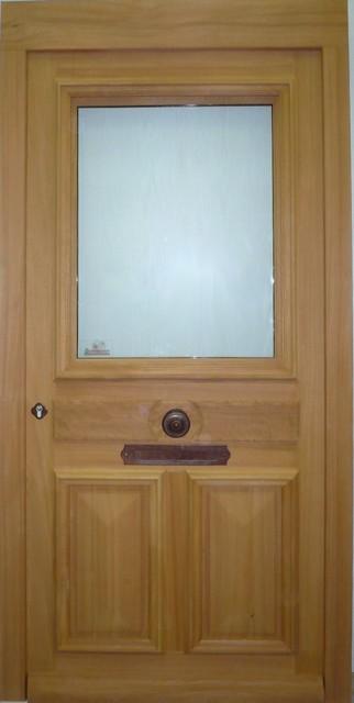 Portes d 39 entr e menuiserie berthaud - Pommeau de porte d entree ...